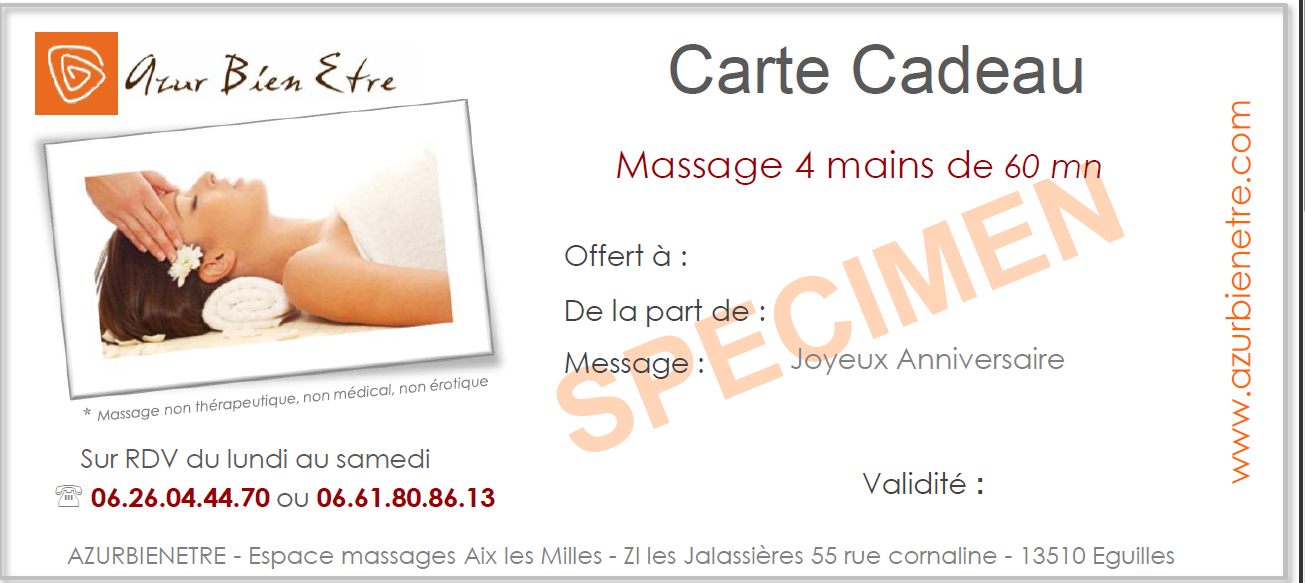 carte cadeau massages et d veloppement personnel aix. Black Bedroom Furniture Sets. Home Design Ideas