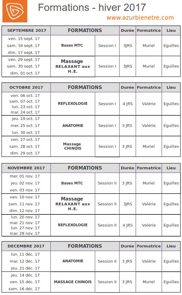Agenda ABE hiver2017